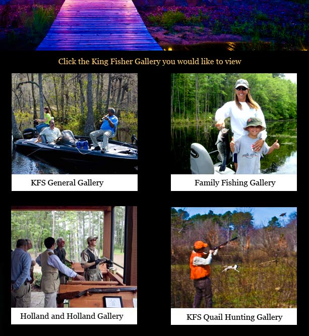 king fisher experience, hunting and fishing
